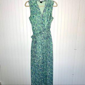 Alice Disney blue maxi floral dress size M